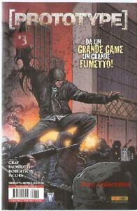 Panini Comics Mix 6 Prototype 3 Gray Palmiotti