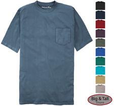 fc73fe91f86891 Falcon Bay Big   Tall Men s 100% Cotton Pocket T-Shirt 3XL - 8XL