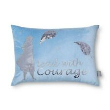 Disney Store Frozen 2 Anna Silver Sequin Shimmer Velvet Throw Bed Pillow New