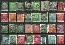 1950 Germany Sc #664 With Notopfer 2 Berlin Steuermarke Tax Stamp lot of 30 mix
