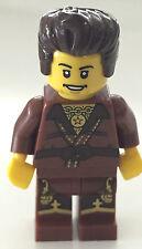 *BRAND NEW* Lego Minifig NINJAGO The Brown Ninja DARETH