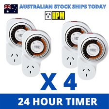 HPM Analogue 24hour Power Point Timer With Offset D809/1