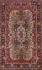 New listing Vintage Traditional Floral Hand-knotted Area Rug Dining Room Oriental 7x9 Carpet
