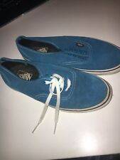 Vans Suede Blue Women's Shoes US 10.5