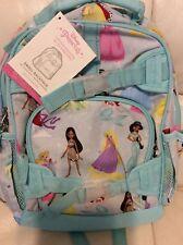 Pottery Barn Kids Small Mackenzie Backpack Aqua Disney Princess NWT! Cinderella