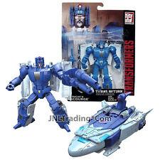 "Year 2015 Hasbro Transformers Titans Return 5.5"" Robot Figure FRACAS & SCOURGE"
