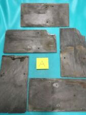 """Lot of 5 --- 7"""" X 13"""" Slate Shingles for DIY Crafts & Signs"""