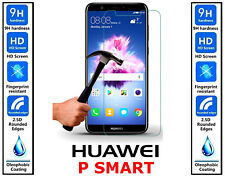 Genuine 100% TEMPERED GLASS Invisible HD Screen Protector For Huawei P Smart