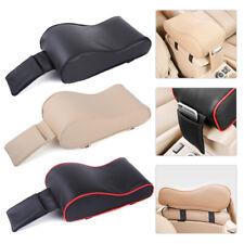 Car Center Console Armrest Protector Pad Box Mat w/ Bag PU Leather Memory Foam