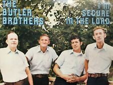 The Butler Brothers: I'm Secure In The Lord vinyl Lp Tellico Plains Tn+bonus Cd