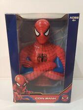 "Marvel Spider-Man 7"" Coin Bank Plastic"