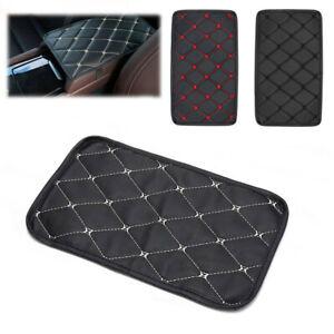 29x17cm Auto Car Armrest Pad Cover Center Console Box PU Leather Cushion Mat