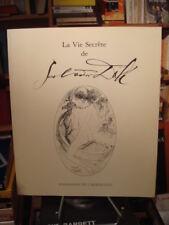 [catalogue] La vie secrète de Salvador Dali Fondation de l'Hermitage 1987