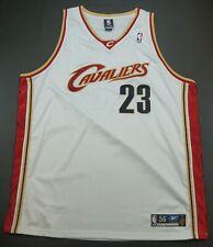 Rare Vintage REEBOK LeBron James Cleveland Cavaliers Authentic Sewn Jersey SZ 56