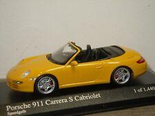 Porsche 911 997 Carrera S Cabriolet 2005 - Minichamps 1:43 in Box *37306