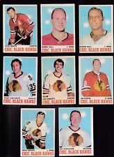 1970 O-Pee-chee Team SET Lot of 16 Chicago BLACK HAWKS VG/EX OPC HULL ESPOSITO