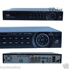 DVR HDMI 4 CANALI HD USB LAN TELECAMERE VIDEOSORVEGLIANZA IPHONE ANDROID