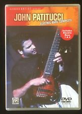 JOHN PATITUCCI - Electric Bass: Complete - DVD - RARE