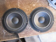 New listing Pioneer Cs-88 Speaker Replacement Parts (2) # 12-63F-2 Mid-Range Excellent