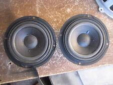 Pioneer Cs-88 Speaker Replacement Parts (2) # 12-63F-2 Mid-Range Excellent