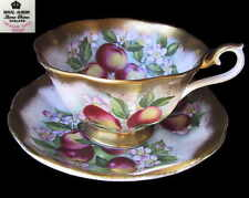 Royal Albert TREASURE CHEST Duo Tea cup & Saucer  - Juicy Apple Eng