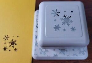 Martha Stewart Around the Page Paper Craft Punch ~ Aspin Flurry Snowflake ~ J4