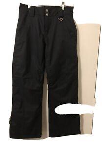 OAKLEY SKI/SNOWBOARDING PANTS WOMEN'S SIZE XS BLACK Or Navy W/HOT PINK LINING