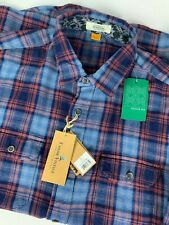 NWT Tailor Vintage Stitch Fix Indigo Heavy Twill Shirt sz XL