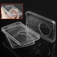 For Apple Ipod Classic 80GB Clear Crystal Hard Case Protector Front Back Cover 1