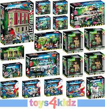 PLAYMOBIL®  Ghostbusters™ 9219 - 9224, 9346 - 9388 zum Auswählen  ** NEU / OVP