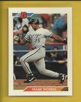Frank Thomas 1992 Bowman Card # 114 Chicago White Sox Baseball MLB HOF