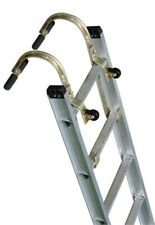 Qty (2) Roof Zone 65005 - Roof Hook w/ Wheel - Roof Ridge Extension Ladder Hook