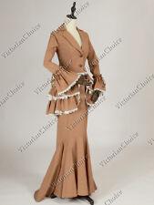 Victorian Edwardian Titanic Downton Abbey 3Pc Dress Gown Theater Costume 328 Xl
