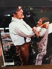 "Roger Moore and Richard ""JAWS"" Kiel - Hand Signed - Double Autograph James Bond"