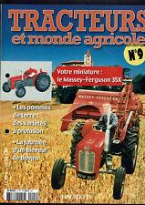 TRACTEURS ET MONDE AGRICOLE  FASCICULE N°9  massey fergusson 35x