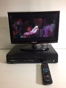 PANASONIC DMR-EZ49V DVD & VHS COMBO RECORDER USB HDMI FREEVIEW