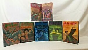 Harry Potter Hardcover Set Books 1-7 First Edition