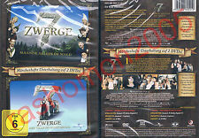 DVD SEVEN 7 DWARFS DWARVES 1+2 Otto Waalkes Nina Hagen German Spoof Region 2 NEW