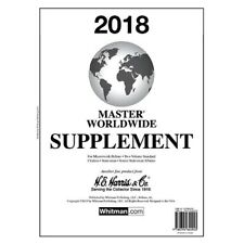 Harris Stamp Album Supplement Pages Master Worldwide 2018 For World Collection