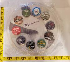 Syfy channel Imagine Greater RARE 10 pin collection (Comic Con)