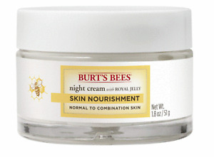 Burt's Bees Skin Nourishment Night Cream for Normal to Combination Skin, 1.8 Oz