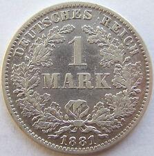TOP! 1 Mark 1881 E en presque TRÈS JOLI
