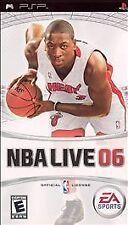 NBA Live 06 UMD PSP COMPLETE GAME SONY PLAYSTATION PORTABLE 2K6 2006 6
