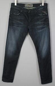 REPLAY HAMWELL MA 942F Men's W31/L32 Coated Look Fade Effect Jeans 18295-JS