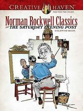 Creative Haven Norman Rockwell's Saturday Evening Post Classics Coloring Book (A