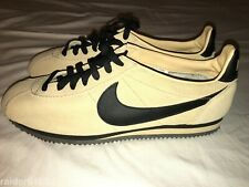 Nike iD Cortez 331985-997 Tan Suede Leather Trainers Men's Size 11 EUC