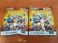 Halo Mega Bloks Series 3 blind pack bag action figure Lot of 2 - NEW! - 96954