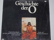 GESCHICHTE DER O (Pierre Bachelet) -  LP  Soundtrack  OST