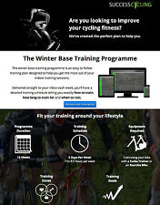 12 Week Winter Cycling Base Training Plan and 7 Turbo Training DVD Package
