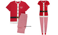 Santa Kids Boys Christmas Family Pyjamas PJs Set Sister Brother Mummy Daddy Xmas